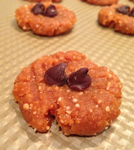 Gluten free peanut butter cookies 2