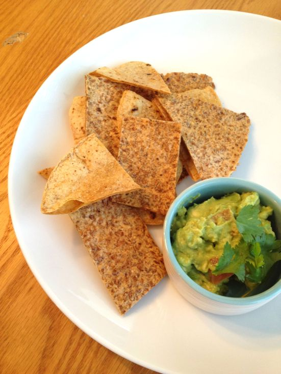 Baked Chips and Guac