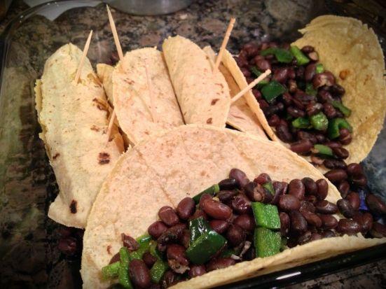 black bean vegan enchiladas 5