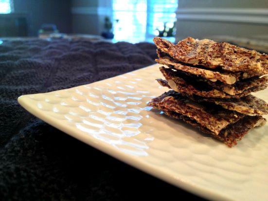 gluten free vegan flax crackers 5