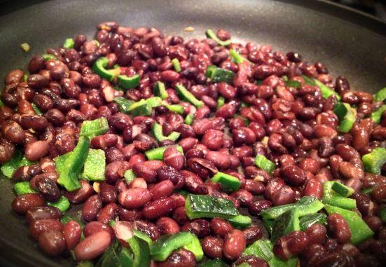 poblano beans