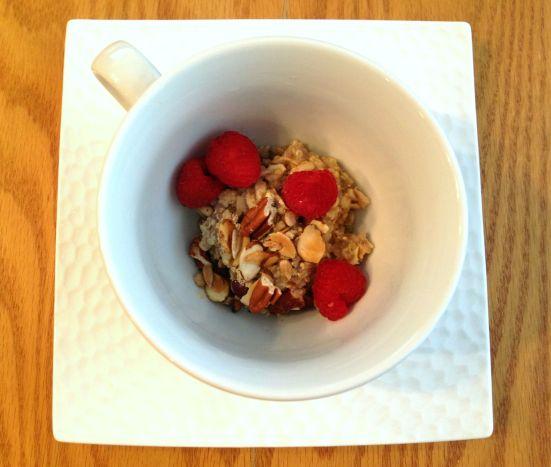 Quinoa Oatmeal 1
