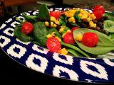 Easy Dinner {Black Bean SpinachBowl}